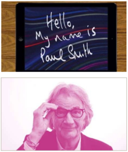 Paul Smith sort une application iPad